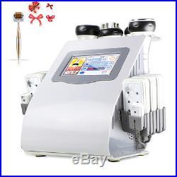 6in1 Ultrasonic Cavitation RF Radio Frequency Vacuum Fat Slimming Beauty Machine