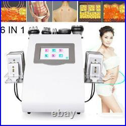6in1 Ultrasonic Cavitation RF Radio Frequency Vacuum Slim Skin Care Lift Machine