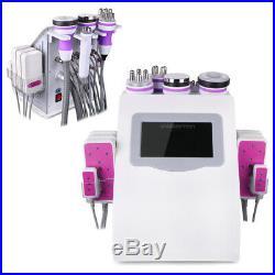 6in1 Ultrasonic Cavitation RF Radio Frequency Vacuum Slimming Cellulite Machine