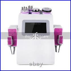 6in1 Ultrasonic Cavitation RF Radio Frequency Vacuum Slimming Machine US