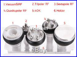 6in1 Ultrasonic Cavitation RF Vacuum Slimming Cellulite Machine Radio Frequency