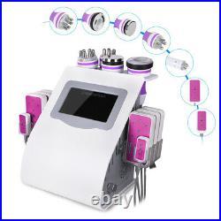 6in1 Ultrasonic Cavitation Radio Frequency LED Photon Vacuum Body Slim Machine