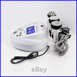 6in1 Ultrasonic Cavitation Radio Frequency RF Vacuum Cellulite Machine Slimming