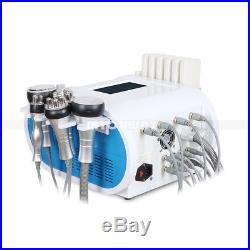 6in1 Ultrasonic Cavitation Radio Frequency RF Vacuum Cellulite Slimming Machine