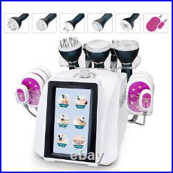 6in1 Ultrasonic Cavitation Radio Frequency RF Vacuum Slimming Beauty Machine Spa