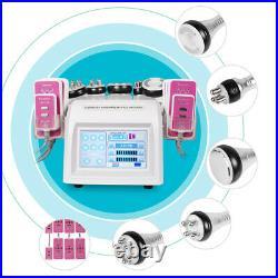 6in1 Ultrasonic Cavitation Radio Frequency Slim Machine Vacuum Body fat Remove A