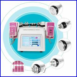 6in1 Ultrasonic Cavitation Radio Frequency Slimming Body Beauty Machine Vacuum F