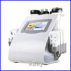 6in1 Ultrasonic Cavitation Radio Frequency Vacuum Body Slim Machine Weight Loss