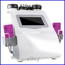 6in1 Ultrasonic Cavitation Radio Frequency Vacuum Cellulite Slimming Machine Spa