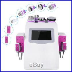 6in1 Ultrasonic Cavitation Radio Frequency Vacuum Cellulite Slimming Machine US