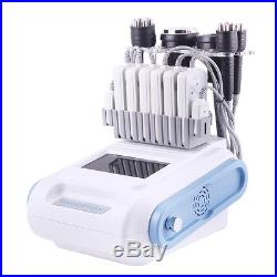 6in1 Ultrasonic Cavitation Radio Frequency Vacuum RF Slimming Skin Care Machine