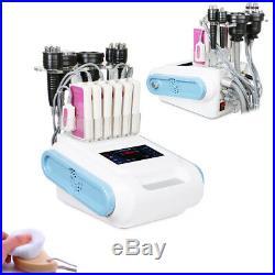 6in1 Ultrasonic Cavitation Vacuum Body Fat Slimming RF Radio Frequency Machine
