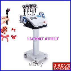 6in1 Ultrasonic Radio Frequency Vacuum RF Cellulite Cavitation Slimming Machine