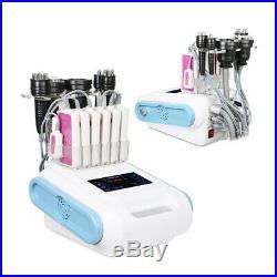 6in1 Ultrasonic Vacuum Body Slim Cellulite Cavitation RF Radio Frequency Machine