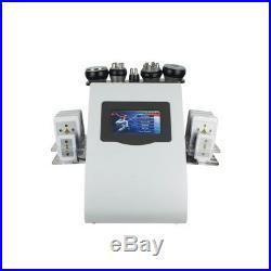6in1 Ultrasonic Vacuum Cavitation RF Radio Frequency Body Slim Cellulite Machine