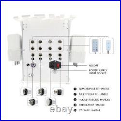 6in1 Ultrasonic Vacuum Cavitation RF Radio Frequency Slim Cellulite Machine