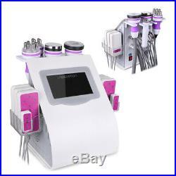 6in1 Ultrasonic Vacuum Cavitation RF Radio Frequency Slim Cellulite Machine SPA