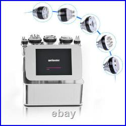 6in1 Ultrasonic Vacuum Cavitation RF Radio Frequency Slimming Cellulite Machine