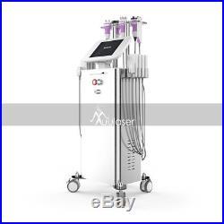 6in1 Ultrasonic Vacuum Cavitation RF Radio Frequency Slimming Powerful Machine