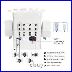 6in1 Ultrasonic Vacuum Cavitation Radio RF Frequency Body Slim Cellulite Machine