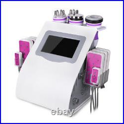 6in1 Unoisetion 40K Ultrasonic Cavitation 3D RF Radio Frequency Vacuum Machine