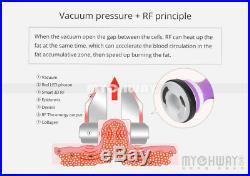 6in1 Vacuum Ultrasonic Cavitation 40K RF Body Cellulite Machine Beauty Machne US