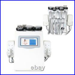 6in1 Vacuum Ultrasonic Cavitation RF Body Slimming Cellulite Machine Spa Salon