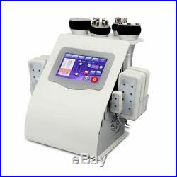 6in1 cavitation laser liposuction machine Vacuum Ultrasonic lipo machine