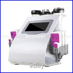 6in 1 Cavitation Radio Frequency RF Ultrasonic Vacuum Cellulite Machine Slimming