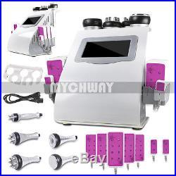 6in 1 Cavitation Radio Frequency RF Ultrasonic Vacuum Cellulite Slimming Machine