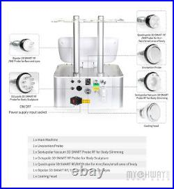 7N1 Ultrasonic Cavitation Vacuum Body Slimming RF&Bio Machine Unoisetion Salon