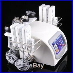 7-1 Radio Frequency RF Photon Body Slimming Vacuum Ultrasonic Cavitation Machine