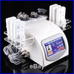 7 IN 1 Vacuum Ultrasonic Cavitation Radio Frequency RF Body Slimming Machine Spa
