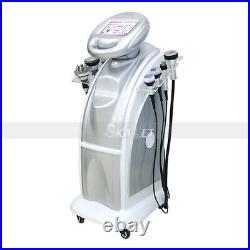 7in1 80K Cavitation Ultrasonic Vacuum RF Massage Fat Removal Slimming Machine