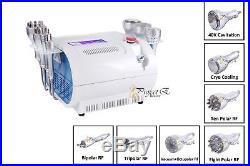 7in1 Cavitation Ultrasonic Radio Frequency Bipolar Tripolar Multipolar Machine