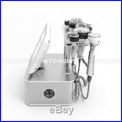 7in1 Ultrasonic Cavitation Radio Frequency RF Vacuum Bio Cellulite Cold Machine