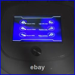 80K Ultrasonic Cavitation Vacuum RF Cellulite Wrinkle Removal Slimming Machine