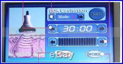 80K ultrasonic cavitation rf radio frequency cold laser slimming machine 2017