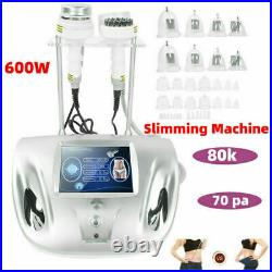 80k Cavitation Ultrasonic Vacuum RF Body Massage Sculpting Slimming Machine US
