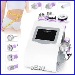 8-1 Ultrasonic Cavitation 40K RF Vacuum BIO Hot&cold Hammer Slimming Machine CE