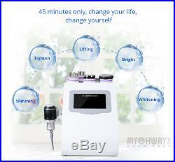 8-1 Ultrasonic Cavitation RF Radio Frequency Vacuum Body Slim Machine Beauty USA