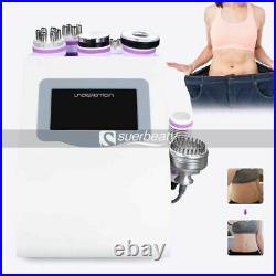 8 IN 1 Vacuum Ultrasonic Cavitation Radio Frequency RF Body Slimming Machine