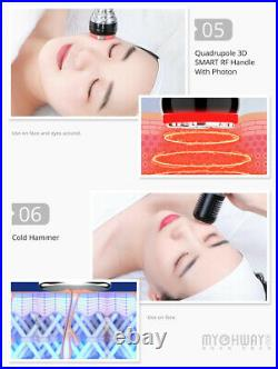 8 In1 RF Vacuum Ultrasonic Cavitation Radio Frequency Fat Loss Massager Machine