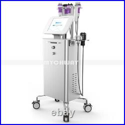 8 In1 Unoisetion Cavitation Ultrasonic Micro Current Face&Body Slimming Machine