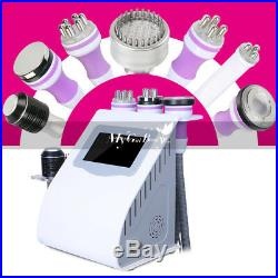 8 in1 Ultrasonic Cavitation RF Vacuum Photon Micro Current Cool Slimming Machine