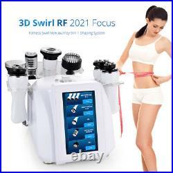 8 in 1 Ultrasonic 40K Cavitation Machine 3D Rotating RF Vacuum Slimming Machine