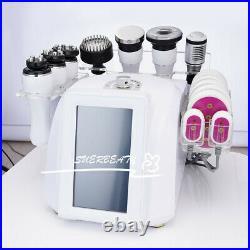 8 in 1 Ultrasonic 40K Cavitation Machine Vacuum RF Slimming Machine 3D Rotary