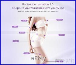 8 in 1 Ultrasonic Cavitation Radio Frequency Slim Machine Vacuum Body fat burner