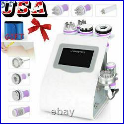 8 in 1 Ultrasonic Cavitation Radio Frequency Slim Machine Vacuum Cold Hammer