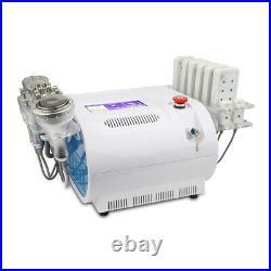 8 in 1 cryo skin cool vacuum cavitation machine RF anti wrinkle body shaping